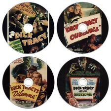 Dick Tracy Movie DVD Collection - Detective, Vs Cueball, Dilemma, Meets Gruesome