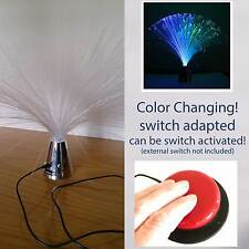 switch adapted Fiber Optic Lamp toy sensory colour changing snoezelen inclusive
