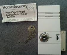 key Operated Electronic Door Alarm 105 Decibels