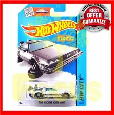 HOT SALE Hot Wheels Time Machine Collection Back to the Future Metal Car Toy KID