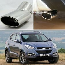 1Pcs Curved Exhaust Muffler Tail Pipe Tip Tailpipe for Hyundai ix35 2011-2014