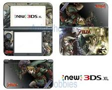 Zelda Link Vinyl Skin Stickers Decals for Nintendo New 3DS XL 2015 Anime
