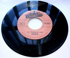 The Charts All Because Of Love b/w I Told You So 1958 45 rpm RE Unplayed VG+