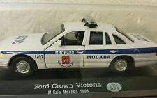Collectors FORD CROWN VICTORIA Milizia Moskva1998 POLICE CAR USSR