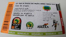 Ticket for collectors Africa Nations Cup 2010 Egypt Nigeria Benin Mozambique 5/6