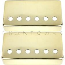 Seymour Duncan Official Humbucker Cover Set Pickup Covers GOLD Bridge & Neck
