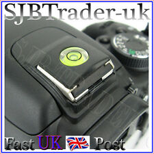 Universal Spirit-Level Hot-Shoe Cover Protector for Canon EOS or Nikon D-SLR