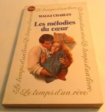 Book in French LES MELODIES DU COEUR Livre en Francais MAGGI CHARLES - DUO