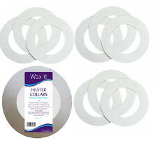 10 Paper Rings Heater Pot Collars Collar cut to fit most wax pots Waxing Salon