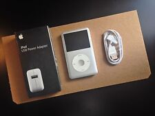 Apple iPod classic 7th Gen (160GB) USED w/NEW ADAPTER + Cable Bundle! 21k SONGS!