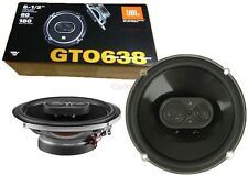 6.5 Car Speakers Front Door Adapter + JBL Speaker Set GTO :: 92db :: 4 Ohm FS-A