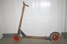 Original alter Holz Roller Kinderoller Erzgebirge J.O. Spielzeug Luftroller DDR