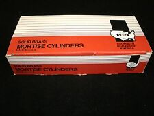 """LSDA Mortise Cylinders-Lot Of """"10"""" Cylinders With LA Keyway-LOCKSMITH-N.O.S."""