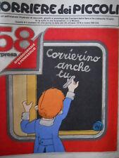 Corriere dei Piccoli 43 1978 DIARIO DI STEFI - BRACCIO DI FERRO  [C20]