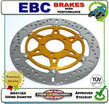 NEW EBC GOLD FRONT BRAKE DISC ROTOR MD4136X 300mm KAWASAKI ZX6R ZX-6R ZX600G1 98