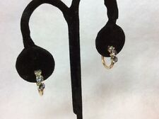 """Mystic Topaz and 10K Yellow Gold 5/8"""" Hoops, 1g, signed JKL"""