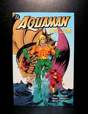 COMICS: DC: Aquaman: Time & Tide tradepaperback (1990s) - RARE (figure/batman)