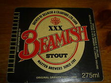 IE.IRELAND-EIRE-OLD beer label BEAMISH&CRAWFORD LTD(CLOSED) CORK. e