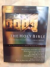 CEV Leather Compact Edition Holy Bible American Bible Society NEW! J22