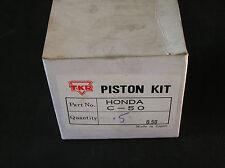 HONDA C50 SS50 +0.50mm  PISTON KIT 051 036 TKR JAPAN NOS 1201.003