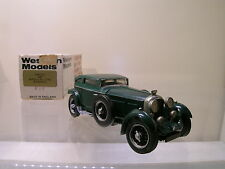 WESTERN MODELS WMS32 BENTLEY 6½ LITRE BERNATO 1930 GREEN + BOX 1:43