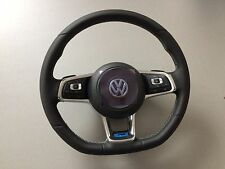 OEM VW R-LINE ACC Multifunction Leather Steering Wheel Mk7 GOLF PASSAT