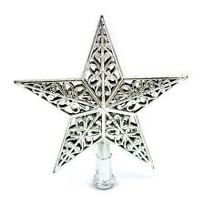 Christmas Tree Star Topper Ornament Party Decoration Xmas Decorations Star WR