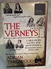 Signed First Edition 1st Printing The Verneys by Adrian Tinniswood