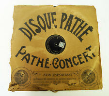 LARGEST PHONOGRAPH GRAMMOPHONE DISC IN THE WORLD 19 5/8 inch = 50 CM PATHE