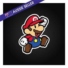 Mario Sticker - Suit JDM Drift Car Truck Jap Window Toolbox Wall * 90mm x 115mm*