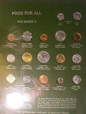 Fao Food for All Coin Set Number 4- 19 Coins 1973 to 1974