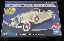 AMT 1932 Chrysler Roadster Toy Fair Exclusive Model Kit NIB Rare 1:25 Scale