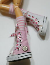 Custom Sneakers w/Hello Kitty For Blythe/Pullip/Monster High/Lalaloopsy - SN339