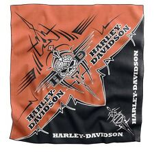 Harley Davidson Mens Tribal Willie G Skull Cotton BIKER BANDANA