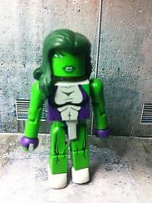 Marvel vs Capcom Minimates SHE-HULK Wave 3 Loose X-Men Avengers Spider-Man