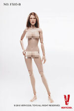 1/6 Very Cool Toys FX03B Female Body Version 3.0 with Brown Hair Head Sculpt
