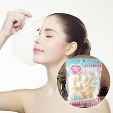 30Pcs Natural Cotton Compressed Lady Facial Face Mask Paper Dry Skin Masque Hot