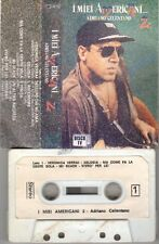 ADRIANO CELENTANO I miei americani 2 MC 1986 audio tape no cd lp dvd vhs Clan