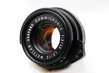 [Rare! Near MINT] Leitz Wetzlar Leica Summicron-C 40mm f/2 M CL CLE From Japan