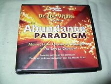 THE ABUNDANCE PARDIGM JOE VITALE 6 CD'S