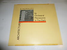 OMD - Architecture & Morality - 1981 German 9-track vinyl LP