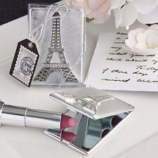40 Eiffel Tower Design Mirror Compact Wedding Shower Gift Favors