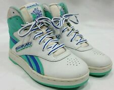 Vtg Women Reebok 80'S High Top Sneakers RARE SHOE & COLOR Shoes basketball SZ 7
