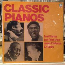 [JAZZ]~[VARIOUS ARTISTS]~EXC LP~CLASSIC PIANOS~{Errol Garner~Fatha Hines~Art Hod