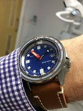 Seiko SKX007 'Soxa' custom.Carribean blue dial.Double domed sapphire.CT bezel