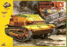 TKS TANK BUSTER WITH INTERIOR (POLISH ARMY 1939 MKGS) 1/35 RPM