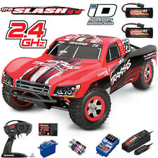 Traxxas 1/16 Slash 4X4 Short-Course Truck Brushed RTR TQ #25 w/ Extra Battery