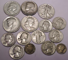 One quarter pound (4 oz) of  90% US Silver Coins  -   Lot B115  -  FREE SHIPPING
