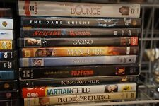110 DVD LOT - ASSORTED TITLES FREE SHIPPING - DVDS, DVD NM-ACCEPTABLE