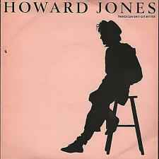 """HOWARD JONES """"THINGS CAN ONLY GET BETTER"""" 7"""" PERFECT UK PRESS"""